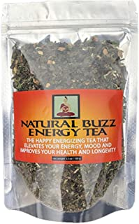 Natural Buzz Energy Tea-Boosts Your Energy And Calms Your Mind-More Energy And Health Benefits Than Coffee, Energy Drinks,...