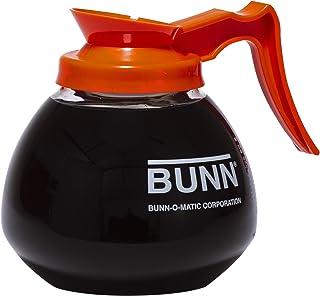 BUNN 12-Cup Glass Coffee Decanter, Orange (42401.0101)