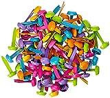 DOODLEBUG Mini Brad Multipacks 100-Pack, Bright