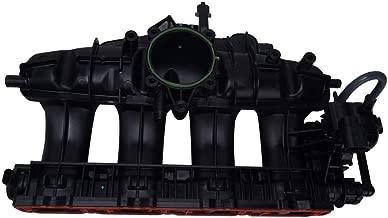 Bapmic 06J133201BD Engine Intake Manifold w/Solenoid Valve and Angular Sensor for Volkswagen Audi CC Eos Tiguan A3