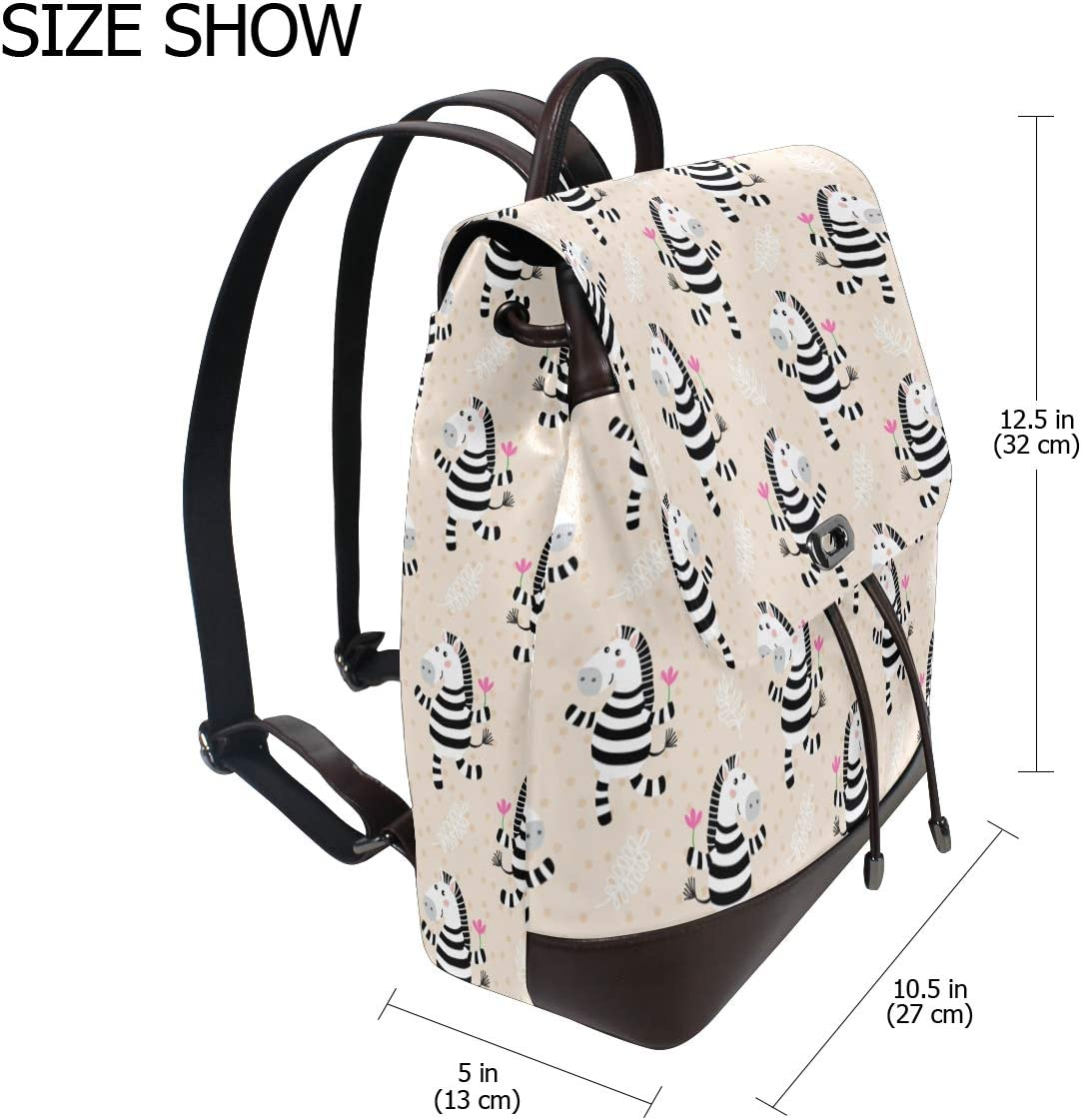 Womens Leather Backpack World Map Shoulder Purse Travel School Fashion Casual Rucksack Lady Bag Flap Backpacks Daypack