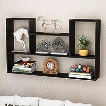 Strong Sturdy Shelf Wall Cabinet Decorative Shelf Storage Shelf Wall Hanging, 80 * 15 * 60 Cm (Color : BLUE),Colour:White ...