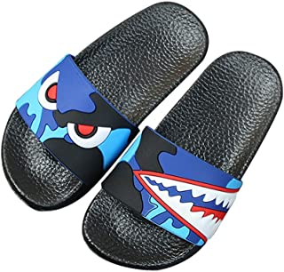 Zernar Boys Girls Slide Sandals,Athletic Sport Slides Kids Outdoor Indoor Beach Slippers