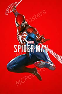 MCPosters - Marvel Spider-Man PS4 Xbox ONE Poster Glossy Finish - NVG262 (16