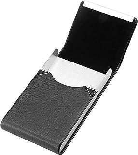 Caja de Cigarrillo - Caja De Cigarillo Metal Pitillera Cigarrillos Mujer Hombre Caja Cigarrillo con la Cerradura Magnética...