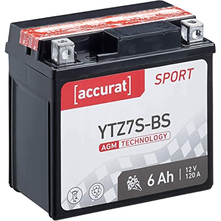 Nx Motorcycle Battery Ytz7s Gtz7s 12 V 6ah Auto