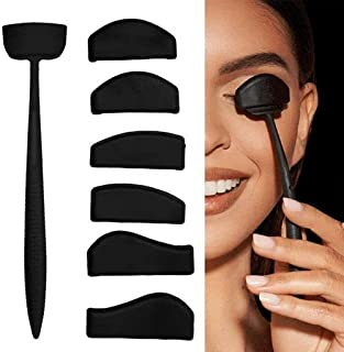 Oogschaduw Vouwlijn Kit, Oogschaduw Applicator Siliconen Oogschaduw Stempel Vouw, Siliconen Luie Snelle Ogen Make-up Tool ...