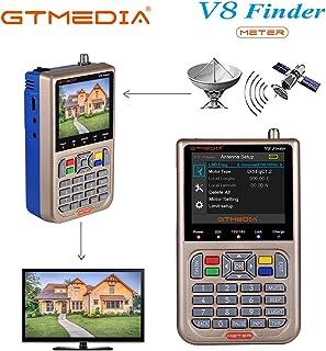 GT MEDIA V8 Sat Finder Meter Localizador satelite Buscador