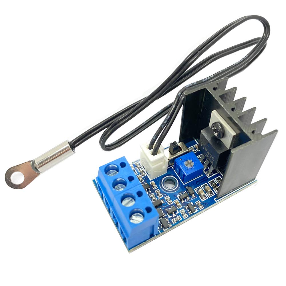 DC 12V 1A Automatic Max 85% OFF PC At the price of surprise Speed Temperature Fan Control CPU