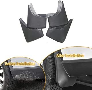 SureKit Car Custom Mud Flaps Splash Guards for Hummer H3 2006-2010 Fender Flares Mudflaps Mudguards Front and Rear Wheel 4Pcs
