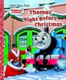 Thomas' Night Before Christmas (Thomas & Friends) (Little Golden Book)