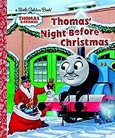 Thomas' Night Before Christmas (Thomas & Friends) (Little Golden Book)