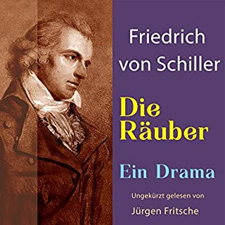 Die Räuber                   By:                                                                                                                                 Friedrich Schiller                               Narrated by:                                                                                                                                 Jürgen Fritsche                      Length: 5 hrs and 35 mins     Not rated yet     Overall 0.0