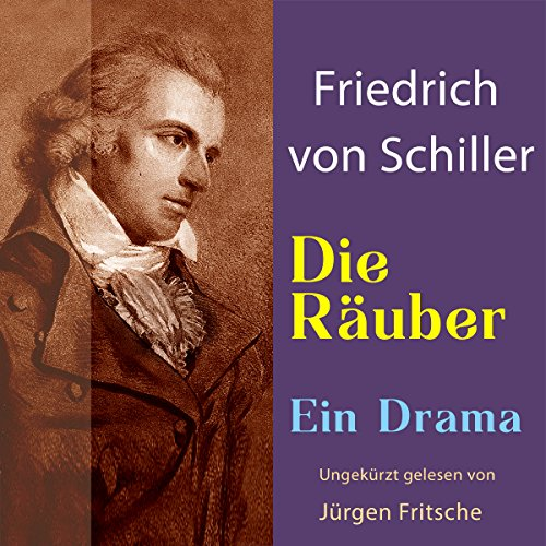 Die Räuber audiobook cover art