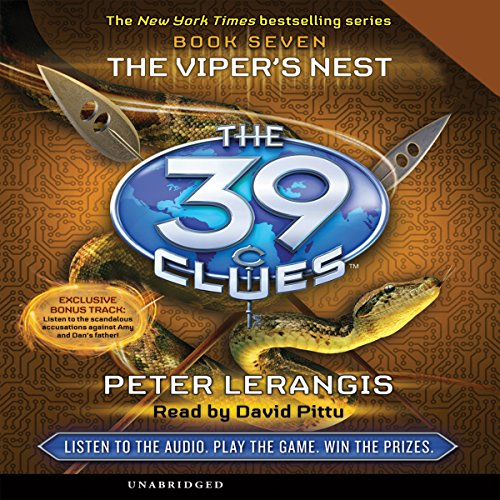 The 39 Clues, Book 7 audiobook cover art