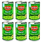 Del Monte Fresh Cut Sweet Peas - with Sea Salt 15 oz. (6 pack)