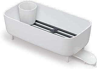 オーエ 水切りかご 白 約縦39.3×横19.3×奥行14cm スマートホーム II ディッシュラックDX 食器ラック キッチン シンク 取り外し可能 日本製