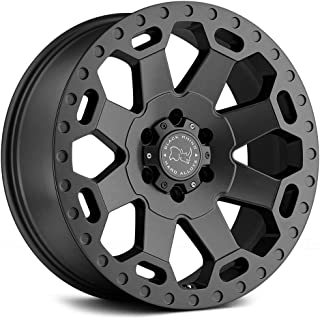 Black Rhino WARLORD Grey Wheel with Painted Finish (20 x 9. inches /6 x 139 mm, 12 mm Offset)