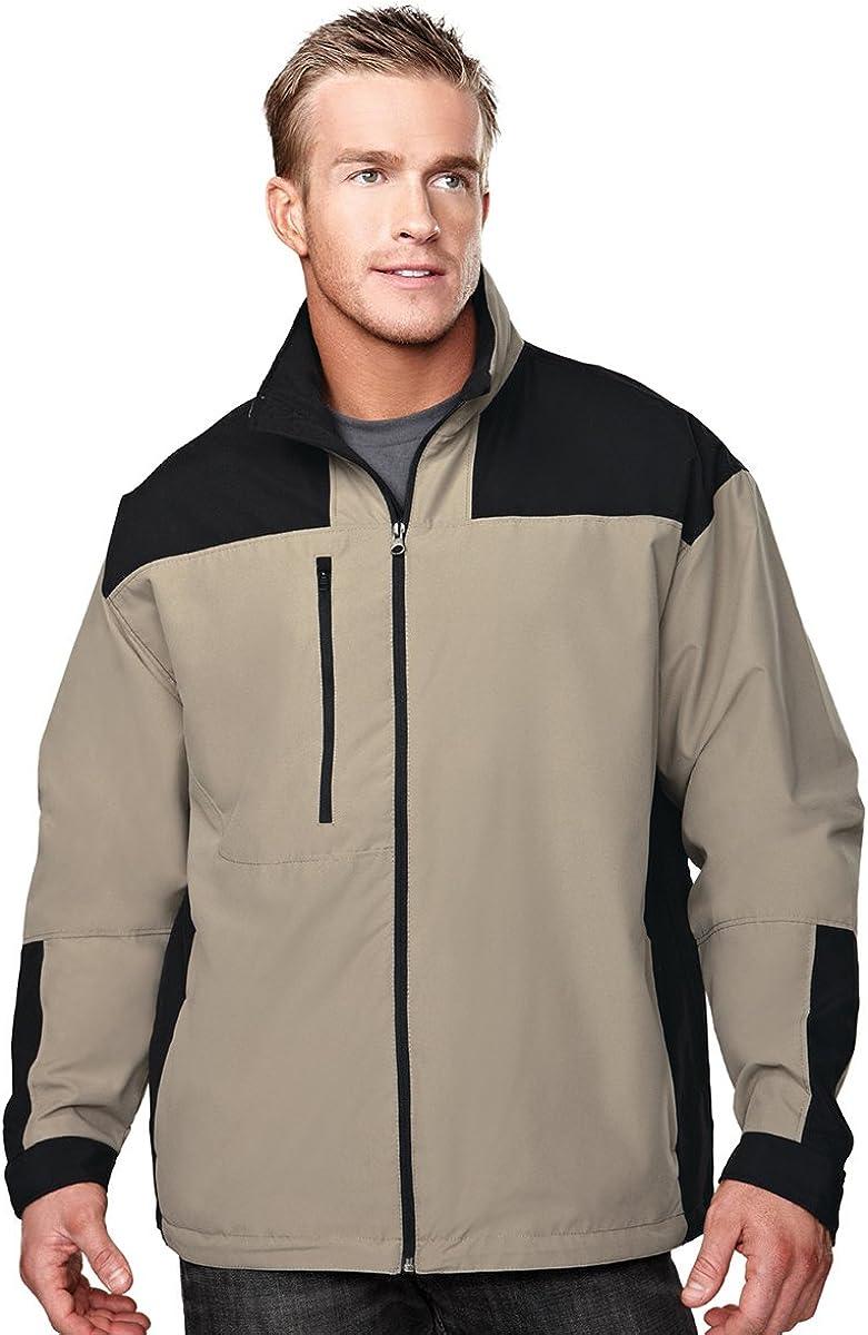 Tri-mountain Microfiber jacket with mesh lining. 6050TM - BRONZE/BLACK_L