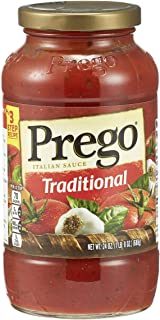 Prego Traditional Italian Sauce, 24 oz (Pack of 3)