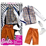 Mattel Set Track Jacket | Ken Mode | Barbie FXJ38 | Vêtements de Poupée