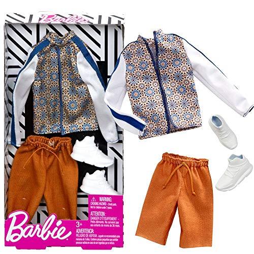 Set Track Jacket | Ken Trend Mode | Barbie | Mattel FXJ38 | Puppen-Kleidung