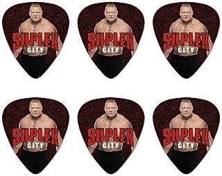 WWE Brock Lesnar Suplex City Novelty Guitar Picks Medium Gauge - Set of 6