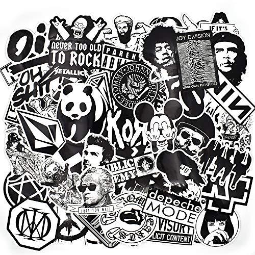 Chileeany 100 Pezzi - Adesivi Valigia, Retro Vintage Stickers per Valigia, Skateboard, Chitarra (World Tour)