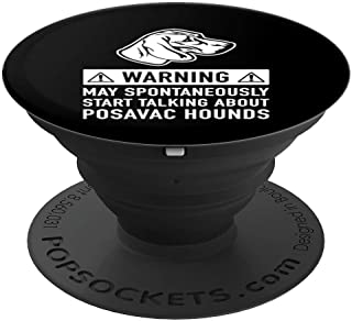 Posavac Hound Dog Lover Funny Gift - PopSockets Grip and Stand for Phones and Tablets