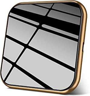 AmyZone Rapid Cordless Charger Wireless Charging Pad Slim Aluminum Case-Friendly Qi Compatible iPhone 11/11 Pro/11 Pro Max/8/X/XS Max Samsung Galaxy S10/S9/S8 Google Pixel LG Qi-Enabled Series(Gold)