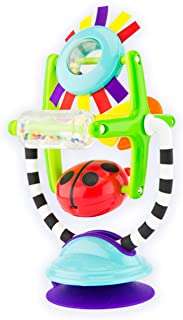 Sassy Sensation Station 2-in-1 Suction Cup High Chair Toy | Developmental Tray Toy for Early Learning | for Ages 6 Months and Up