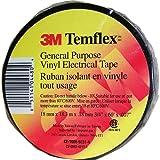 Scotch Ruban adhésif électrique en vinyle de qualité professionnelle, 1 Roll