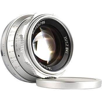 Meike 35mm F1.7 lente de gran abertura primer enfoque Manual Para Cámara De Montaje Sony E