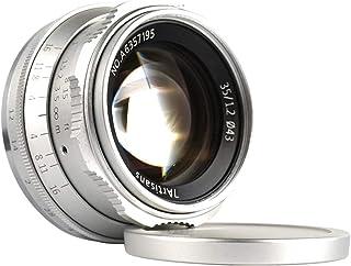 7artisans Obiettivo 35mm F1.2 APS-C Manual Focus manuale Lens per Mirrorless Cameras Fujifilm X-A1 X-A10 X-A2 X-A3 A-AT X-...