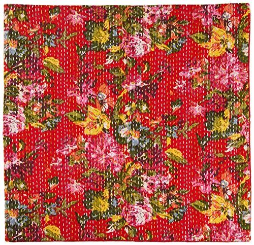 La Finesse Fundas de Cojín, algodón, Textil Coloreado, 50 cm x 50 cm