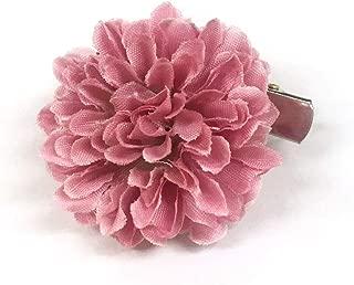 [ミッシュキッシュ]髪飾り ヘアアクセサリー コサージュ ミニボールマムのクリップ 4511-469