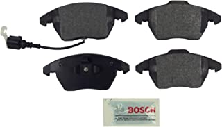 Bosch BE1107 Blue Disc Brake Pad Set for Select Audi A3, A3 Quattro, TT; Volkswagen Eos, Golf, GTI, Jetta, Passat, Rabbit - FRONT - coolthings.us