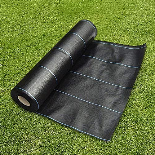 GroundMaster 2m x 10m Heavy Duty Weed Control Fabric Ground Cover...