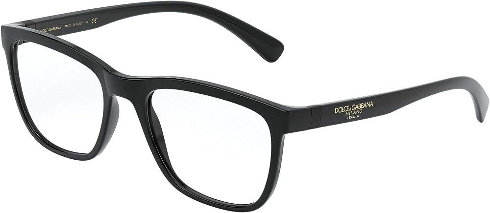 Dolce gabbana,montatura per occhiali da vista per uomo DG5047-501-52