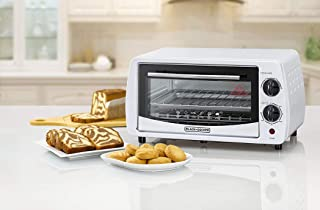 Black+Decker 9L Double Glass Multifunction Toaster Oven for Toasting/ Baking/ Broiling, White - TRO9DG-B5, 2 Years Warranty