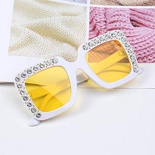 Powzz ornament - Gafas de sol de gran tamaño bonitas para niños de 2021 Gafas cuadradas para niños Gafas de sol de colores de moda para bebés Gafas de sol para niños y niñas-6_China