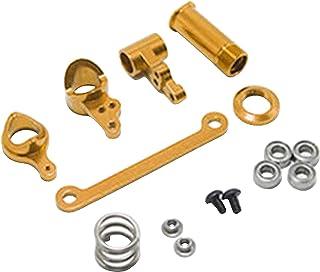 Hellery RC aluminium legering styre hub krickles kit steering servo saver & lagerset för WLtoys 144001 124019 124018 1/14 ...