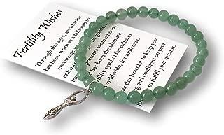 Fertility Wishes Gift Goddess Charm Bracelet