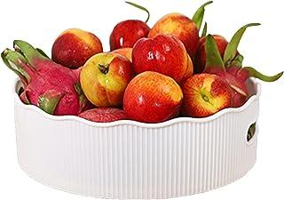 ADSFV Support de Rangement pour la Cuisine Snacks aux Fruits Porte-conteneurs Accessoires Plateau tournant pour Salle de B...