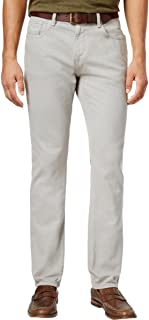 Mens Solid Straight Leg Jeans