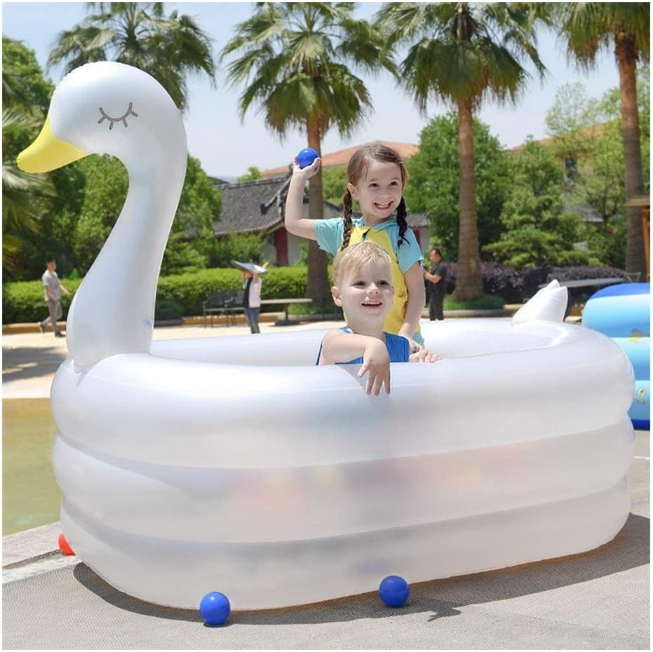 ZSP Backyard Pool All stores Sales are sold Swan Swimming Inflatable Shape
