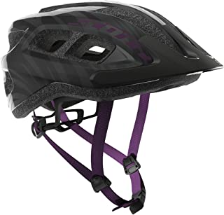 Scott Supra Bike Helmet - Black/Violet