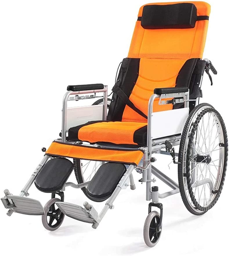 Gorgeous Folding Wheelchair Belt Semi-Recumbent Seated Indefinitely