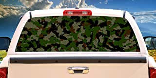 SignMission Camouflage Rear Window Graphic camo Decal Truck View car Vinyl Hunting, 22