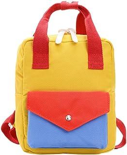 Mochila Infantil Niño Mochilas Escolares Juveniles Guardería Mochila Viaje Bolsa de la escuela Bolsos Primaria Multicolores Multi-Función 2019 Nuevo Moda